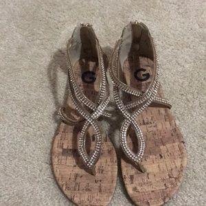 Guess Sequin Sandals